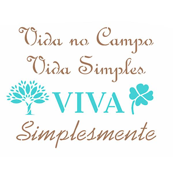 Stencil-OPA-Simples-15x20-OPA2975-Frase-Vida-no-Campo