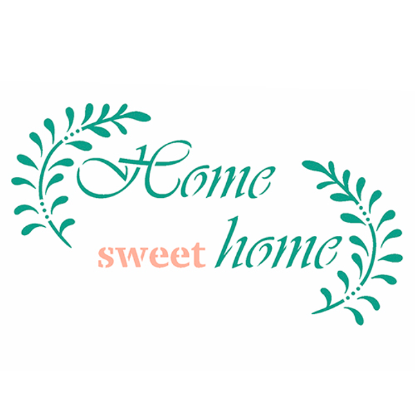 Stencil-OPA-Simples-15x20-OPA2938-Frase-Home-Sweet-Home