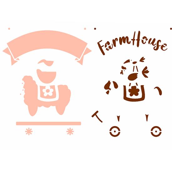 Stencil-OPA-Simples-15x20-OPA2935-FarmHouse-Bichos