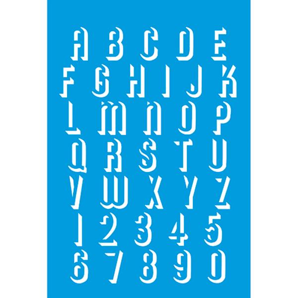 Stencil-Litocart-30x20-LSS-075-Alfabeto-e-Numeros