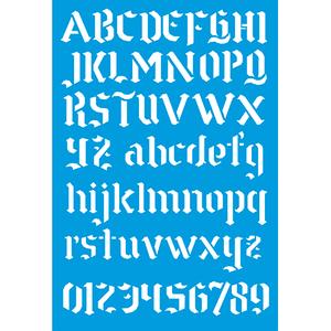 Stencil-Litocart-30x20-LSS-076-Letras-e-Numeros
