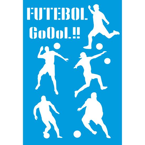 Stencil-Litocart-30x20-LSS-081-Futebol-Jogador