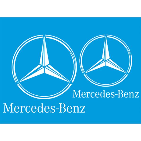 Stencil-Litocart-20x15-LSM-208-Marca-Mercedes-Benz