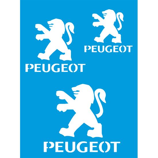 Stencil-Litocart-20x15-LSM-199-Marca-Peugeot