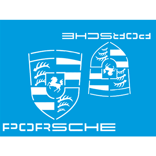 Stencil-Litocart-20x15-LSM-210-Marca-Porsche