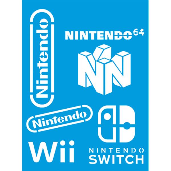 Stencil-Litocart-20x15-LSM-237-Marca-Nintendo-Wii-e-Switch