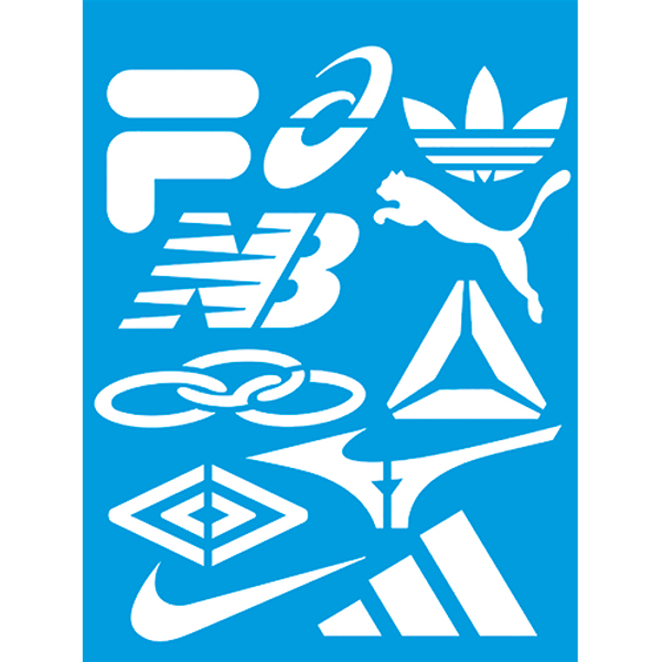 Stencil-Litocart-20x15-LSM-193-Marcas-Esportivas-Nike-Adidas-Olympikus-Fila...