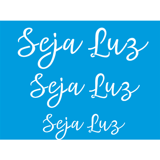 Stencil-Litocart-20x15-LSM-219-Frase-Seja-Luz