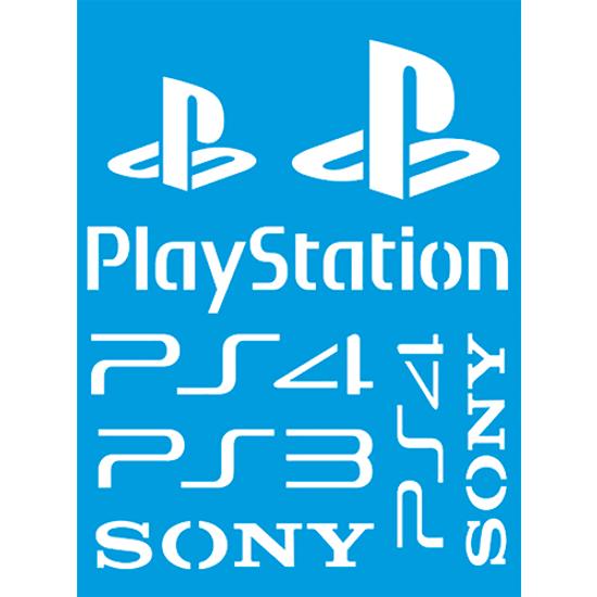 Stencil-Litocart-20x15-LSM-236-Playstation-Sony