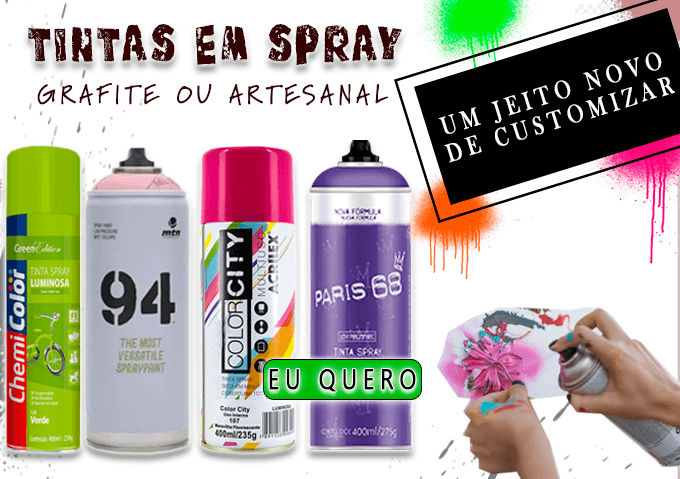 Tinta Spray