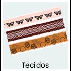 Decoupage - Tecidos
