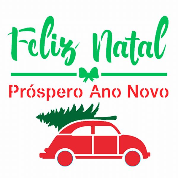 Stencil-OPA-Natal-14x14-2998-Frase-Feliz-Natal-Fusca