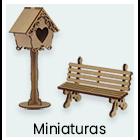Madeiras - Miniaturas