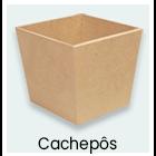 Madeiras - Cachepôs