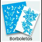 Stencil - Borboleta