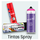 Tintas - Spray
