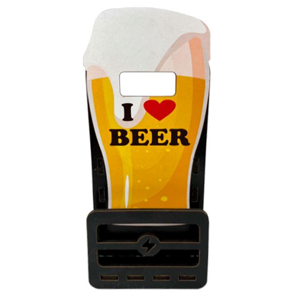 Placa-Decorativa-Porta-Celular-Litocart-185x8x4cm-I-Love-Beer