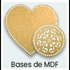 Crochê e Tricô - Bases de MDF