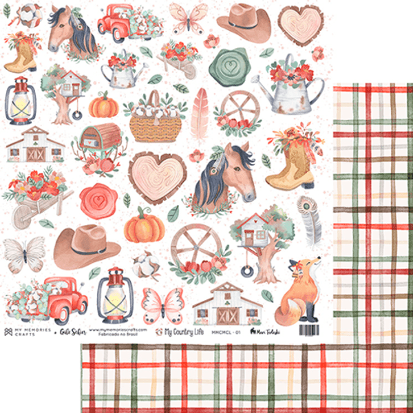 Papel-Scrapbook-My-Memories-Crafts-305x305-MMCMCL-001-My-Country-Life-Icones-Country