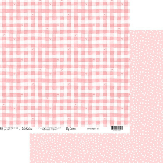 Papel-Scrapbook-My-Memories-Crafts-305x305-MMCMCO-005-My-Colors-Pink