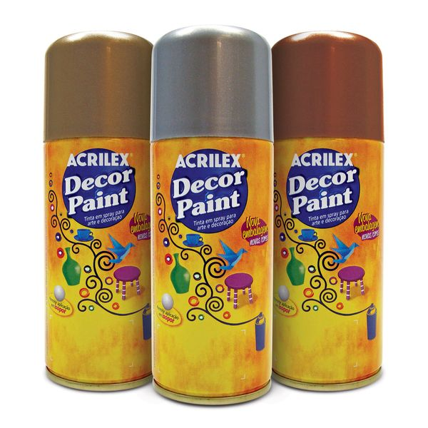 Tinta-em-Spray-Decor-Paint-Acrilex-para-pintura-decorativa-150ml-Cores-Metalizadas
