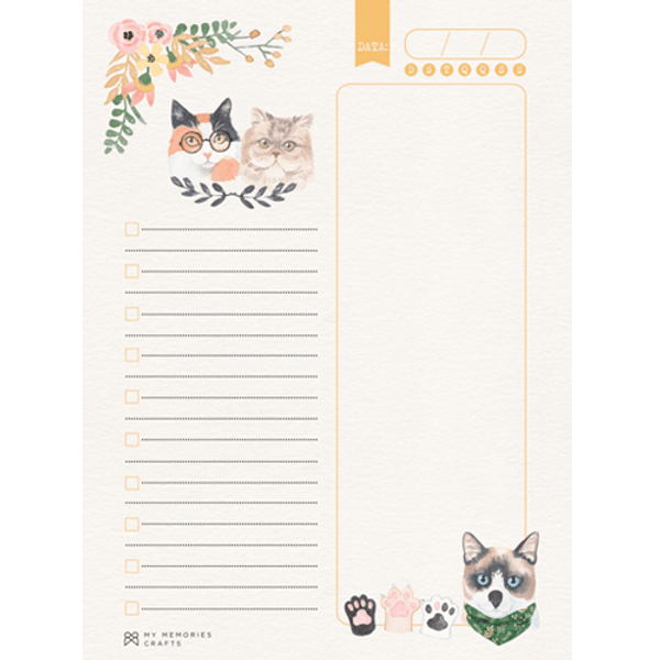 Bloco-ou-Caderno-de-Anotacoes-My-Memories-Crafts-15x21cm-A5-MMCMP-009-My-Cat