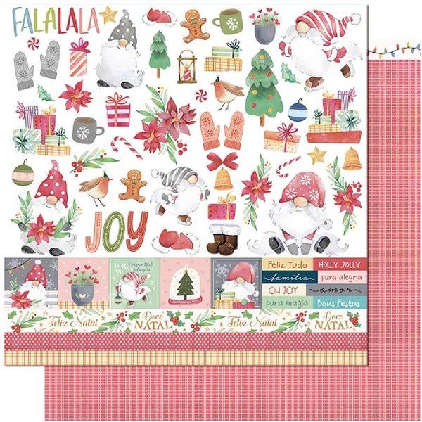 Papel-Scrapbook-Natal-Litoarte-305x305-SDN-144-Gnomo-Noel-Elementos-para-Recorte