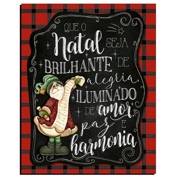 Placa-Decorativa-em-MDF-Natal-Litoarte-19x24cm-DHN-016-Que-o-Natal-Seja-Brilhante