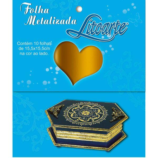 Folha-Metalizada-Litoarte-15x15cm-FML-001-Ouro