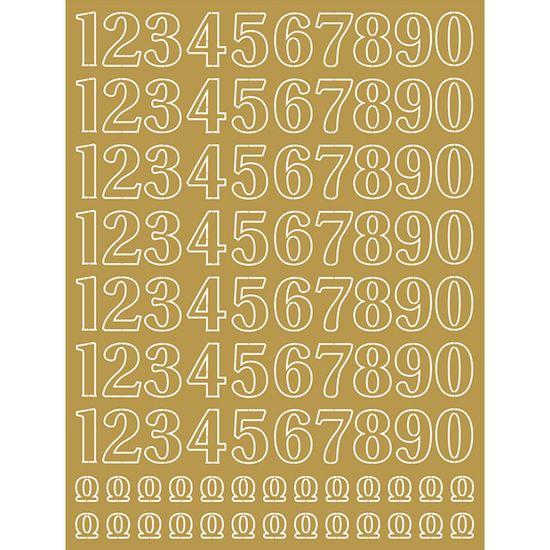 Papel-Laminado-Litoarte-Dourado-LFDL2-003-16x21cm-Numeros-Dourado