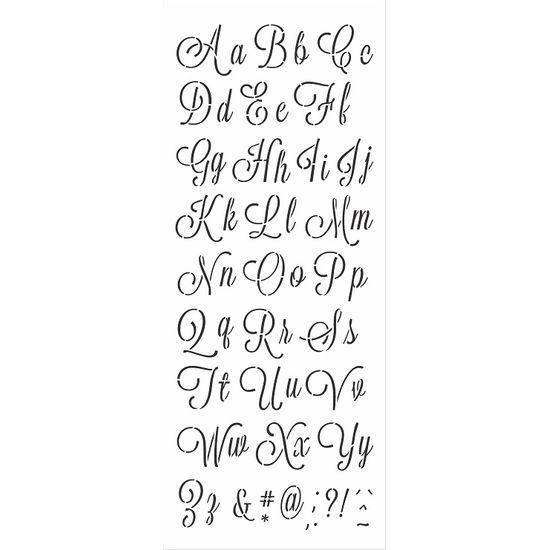 Stencil-Opa-17x42cm-3072-Alfabeto-Cursivo-I