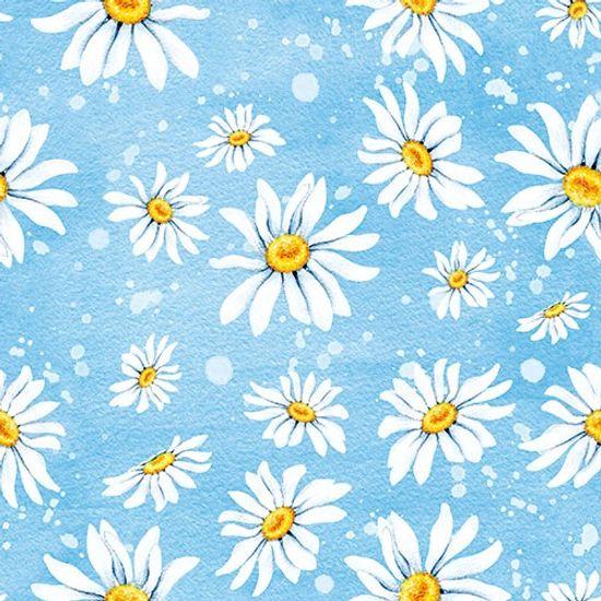 Guardanapo-Decoupage-Ambiente-Daisies-Blue-13311195-2-unidades