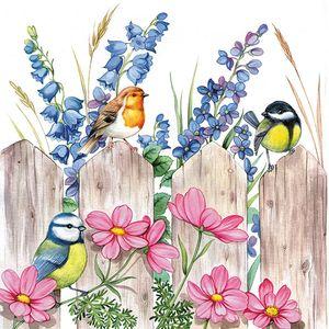 Guardanapo-Decoupage-Ambiente-Birds-on-Fench-13312720-2-unidades