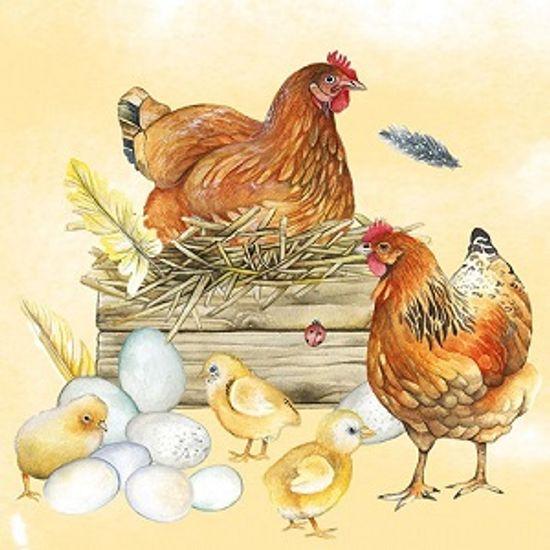 Guardanapo-Decoupage-Ambiente-Breeding-Chicken-13312820-2-unidades