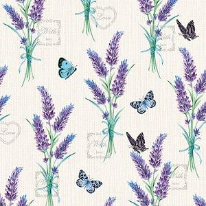 Guardanapo-Decoupage-Ambiente-Lavender-Whith-Love-Cream-13314225-2-unidades