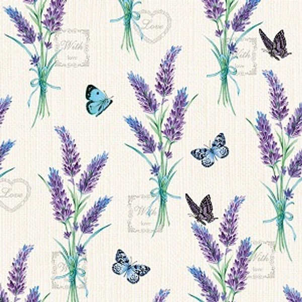 Guardanapo-Decoupage-Ambiente-Lavender-Whith-Love-Cream-13314225-2-unidades