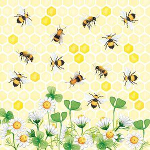 Guardanapo-Decoupage-Ambiente-Bees-Joy-13314415-2-unidades