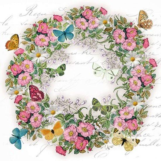 Guardanapo-Decoupage-Ambiente-Wreath-of-Flowers-13314920-2-unidades