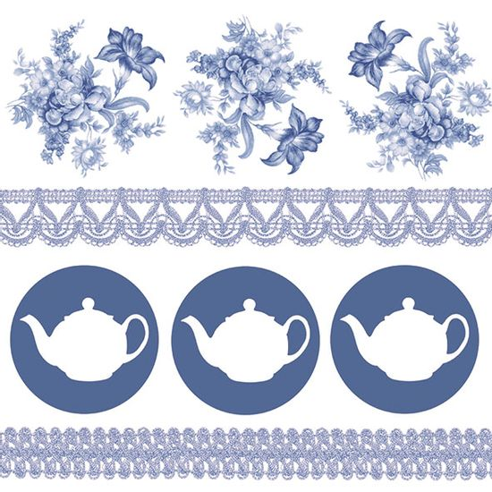 Guardanapo-Decoupage-Ambiente-Tea-Pots-Blue-13315060-2-unidades