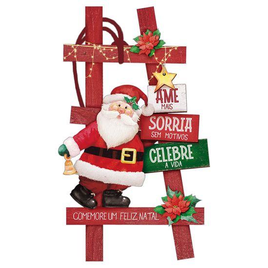 Placa-TAG-MDF-Decorativa-Natal-Litoarte-DHT7N-003-85x14-cm-Escada-Papai-Noel--INATIVO-