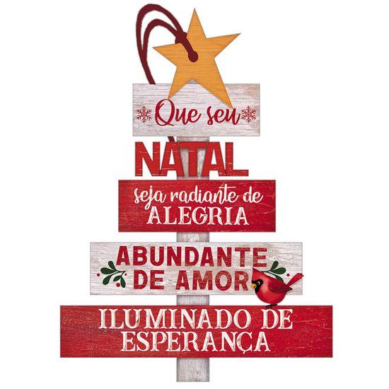 Placa-TAG-MDF-Decorativa-Natal-Litoarte-DHT7N-004-10x14-cm-Arvore-de-Natal