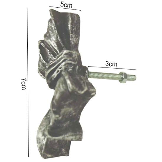 Puxador-de-Gaveta-Laco-5x7-Resina-Preto-e-Prata