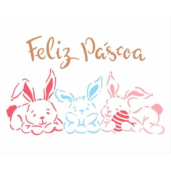 Stencil-Opa-Pascoa-20x25-2824-Coelhos-Deitados-I