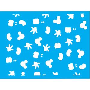 Stencil-Litocart-20x15cm-LSM-266-Icones-Mickey