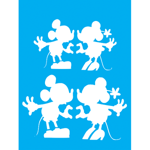 Stencil-Litocart-20x15cm-LSM-267-Mickey-e-Minnie