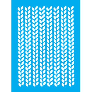 Stencil-Litocart-20x15cm-LSM-272-Folhas-Trancadas