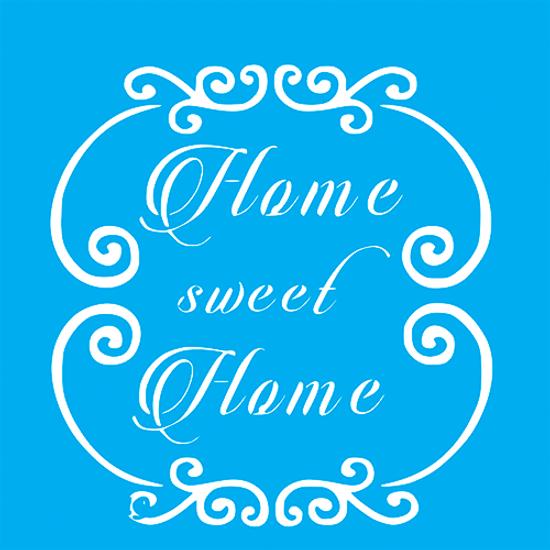 Stencil-Litocart-20x20cm-LSQ-212-Home-Sweet-Home