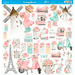 Papel-Scrapbook-Litoarte-305x305cm-SD-1179-Icones-Femininos-e-Xadrez