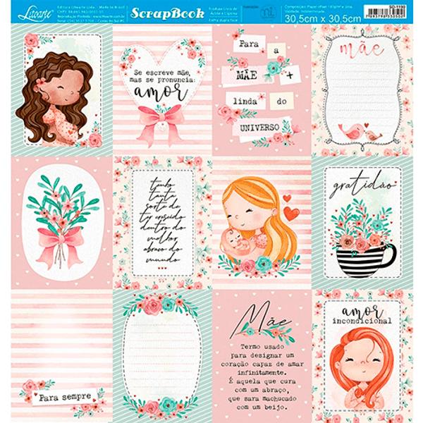 Papel-Scrapbook-Litoarte-305x305-SD-1190-Tags-Maes-e-Flores