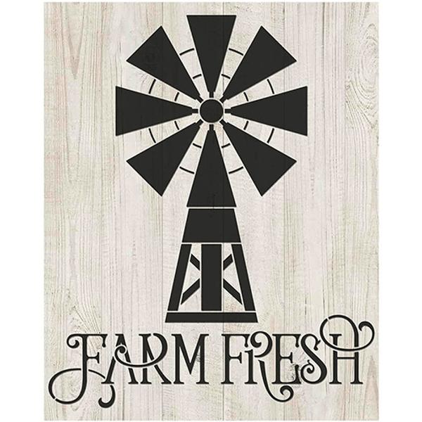 Stencil-Litoarte-20x25cm-STR-190-Moinho-Farm-Fresh